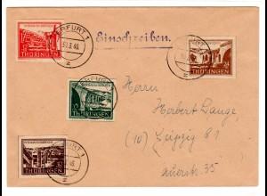 Sammler-Fern-Brief Mi.-Nr. 112 - 115 FDC.