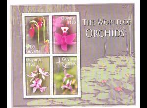 Orchideen Block Guyana (The world of Orchids)