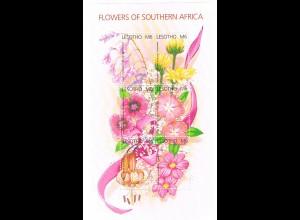 Blumen Block Lesotho (Flowers of Southern Africa)