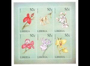 Orchideen Kleinbogen Liberia