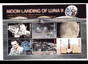 Guyana Kleinbogen Mondlandung Luna 9