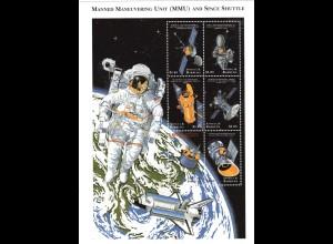 Antigua & Barbuda MMU und Space Shuttle