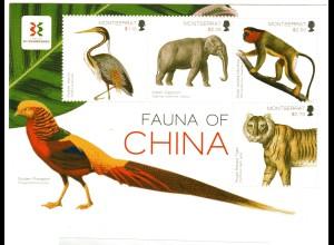 Montserrat Block Fauna von China