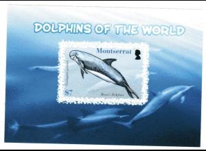 Montserrat Block Delfine der Welt