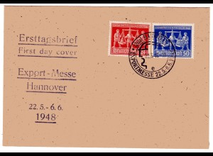 Hannovermesse 1948 FDC