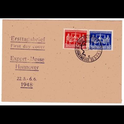Hannovermesse 1948 FDC