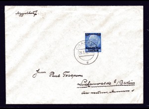 GG, Ausland-Brief , Auslandstarif für die poln. Zivilbevölkerung.