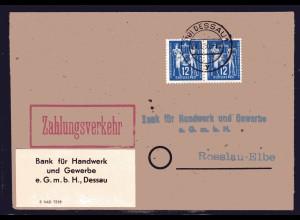 DDR, Fern-Brief mit Me.F. Mi.-Nr. 243