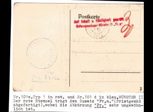 Kriegsgefangenensendung 1. Weltkrieg, Nr. 101