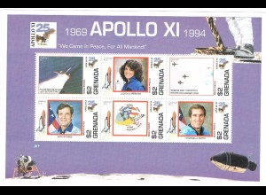 Grenada Block Apollo XI