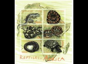 Sierra Leone Block Schlangen/Eidechsen