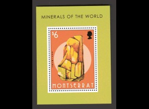 Montserrat Block Minerals of the World
