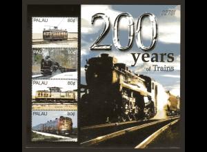 Palau Kleinbogen Eisenbahn