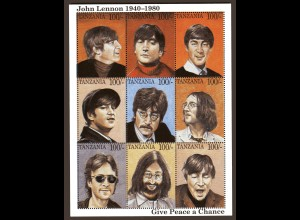 John Lennon 1940-1980, Kleinbogen, Tansania