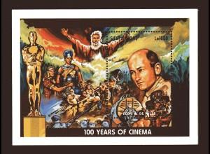 100 Jahre Kino, Block und Kleinbogen, Sierra Leone