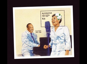 Billie Hollliday/Count Basie, Block, St. Vincent