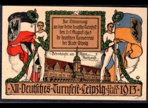 XII. Deutsche Turnfest 12.-16. Juli Leipzig 1913