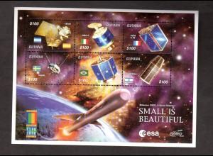 Guyana, Kleinbogen Raumfahrt/versch. Satelliten