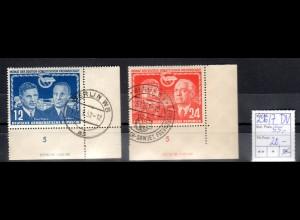 DDR, Mi.-Nr. 296-7 DV., gestempelt.