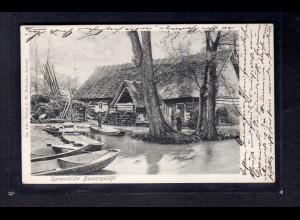 """Fotokarte """"Spreewälder Bauerngehöft"""""""