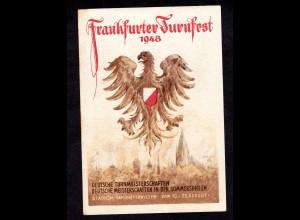 Ereigniskarte, Frankfurter Turnfest 1948