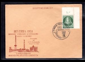 Berlin, FDC Mi.-Nr. 102