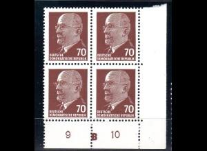DDR Mi.-Nr. 938 Xx I UR 3 DKZ, postfrisch.