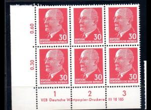DDR Mi.-Nr. 935 Xx I DV 1 C, postfrisch.