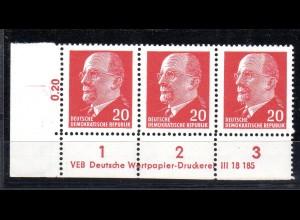 DDR Mi.-Nr. 848 Xx I DV 1 c, postfrisch, sign. Mayer