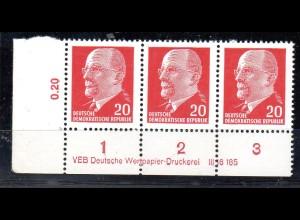 DDR Mi.-Nr. 848 Xy I DV 2 a, postfrisch, sign. Mayer