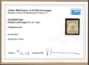AD., NDP.,(Okkupationsgebiete), Mi.-Nr. 3 I a gestempelt, Befund Mehlmann.