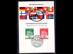 """Bizone, Ereigniskarte """"Internationale Automobilausstellung"""""""