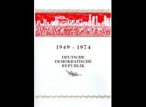 DDR-Gedenkblatt, 25 Jahre DDR.
