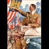 3. Reich: Schmucktelegramm LX 17, mit Glückwünschen