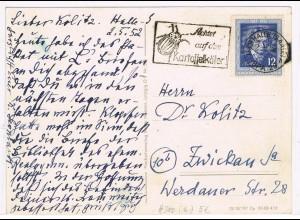 DDR: EF Beethoven 1952 auf Fernkarte
