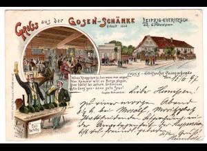 Gruss aus der Gosenschänke, Leipzig-Eutritzsch