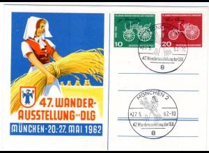 Ereigniskarte: Wanderausstellung der DLG 1962