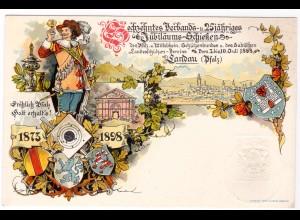 """Bayerische Privatganzsache """"Jubiläums-Schießen"""""""