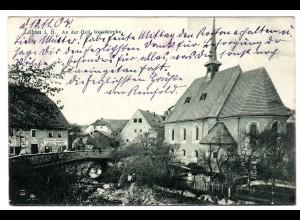 Löbau / An der Heil.-Geist-Kirche