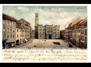 Zittau / Markt mit Rathaus