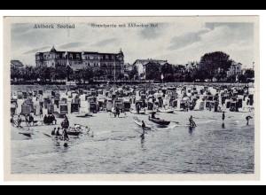 Ahlbeck / Fotokarte, Ahlbecker Hof