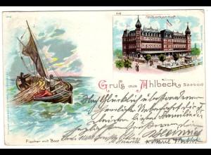 Ahlbeck / Litho, Ahlbecker Hof