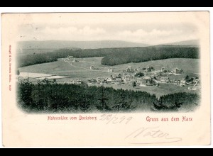 Hahnenklee / gel. Fotokarte Panorama