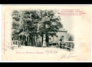 """""""Gruss aus Forsthaus Rottstiel"""""""