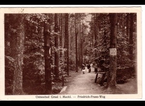 Ostseebad Graal / Friedrich-Franz-Weg