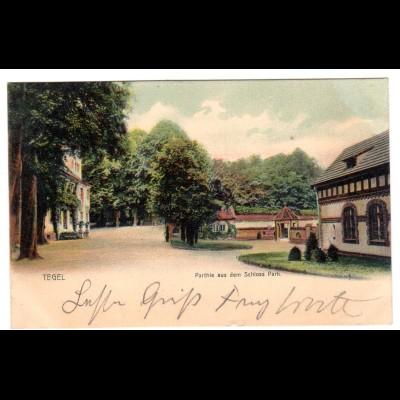 "Tegel / ""Parthie aus dem Schloss Park"""
