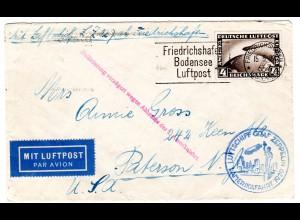 Zeppelin 1. Amerikafahrt 1929
