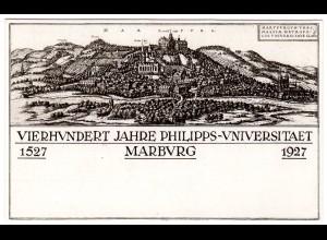 Privatganzsache 400 Jahre Universität Marburg
