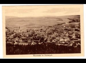 Privatganzsache Oberfränkischer Philatelistentag Wunsiedel 1923