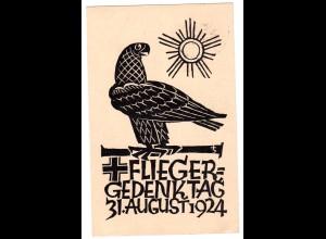 Privatganzsache Flieger-Gedenktag 1924